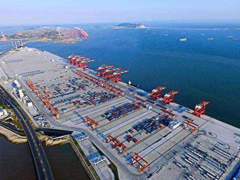 Shanghai's Yangshan Deepwater Port