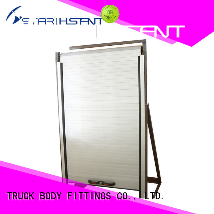 TBF vanrefrigerated aluminum roll up door for business for Tarpaulin