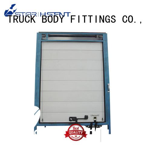 TBF equipment automatic roll up garage door for Trialer
