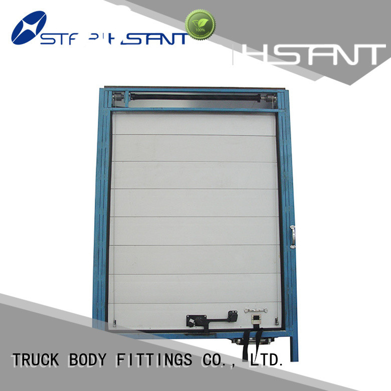 TBF vanrefrigerated vehicle roller shutter doors manufacturers for Trialer