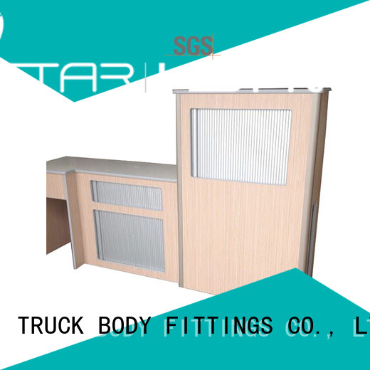 TBF custom kitchen cabinet roll up doors factory for Trialer