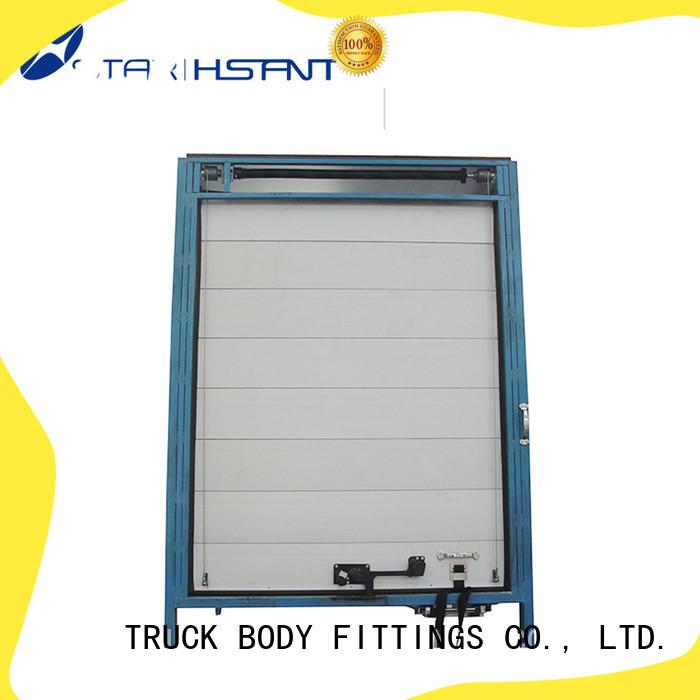 TBF 18mm roller shutter doors trucks for Tarpaulin