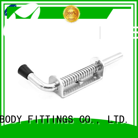TBF steel spring loaded slide bolt latch for Trialer