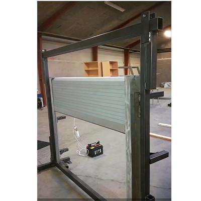 Truck body fitting co.,ltd  produces and develops motor shutter doors