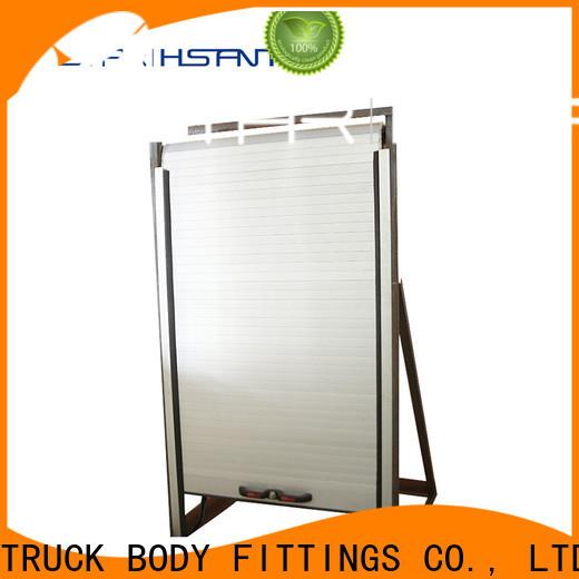 TBF double aluminium roller doors for trucks for business for Tarpaulin