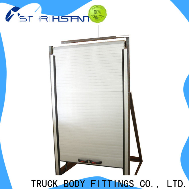 TBF advanced insulated roll up door for Trialer